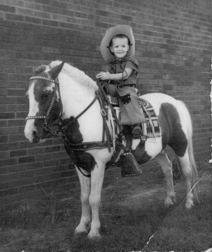 Craig-på-hest