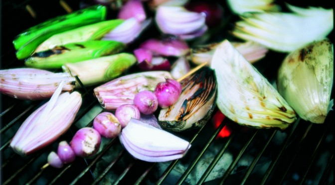 Flashback Friday: Grilled ´n Glazed Onions